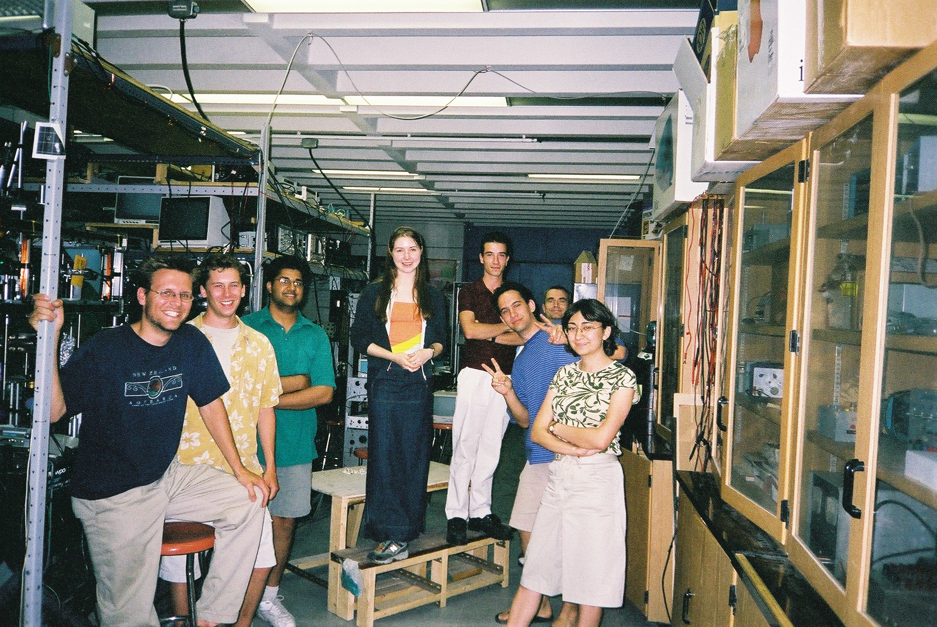 Early Views of the Lab